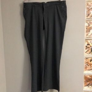 GAP maternity Hip Slung dress pants size 6